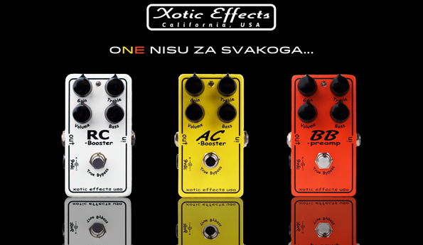 XOTIC EFFECTS u Mitros Music-u