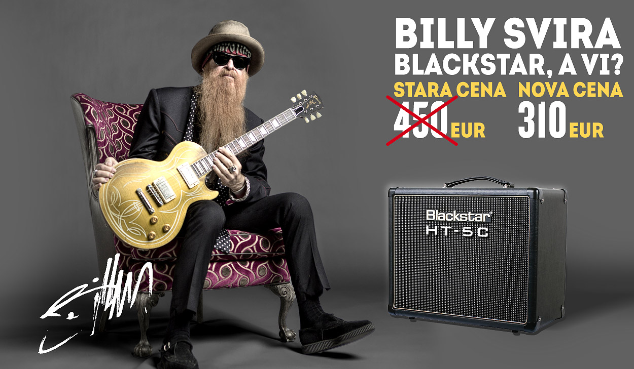 Billy Gibbons Blackstar