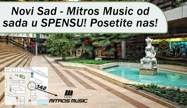 Mitos Music - Novi Sad - Spens